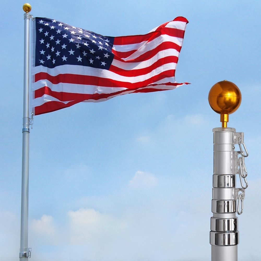 20 ft. Telescopic Aluminum Flagpole
